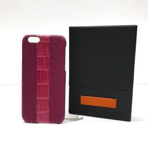 60%OFF MAISON TAKUYA メゾン タクヤ iPhone6/6s ケース with Stripe Indian pink&Glossy pink umd-tsutayabooks