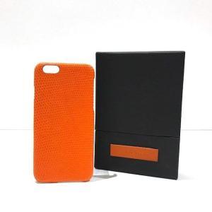 60%OFF MAISON TAKUYA メゾン タクヤ iPhone6/6s ケース Lizard Orange umd-tsutayabooks