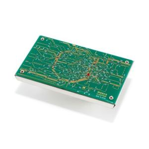 京都回路地図 名刺入れ 緑|umd-tsutayabooks