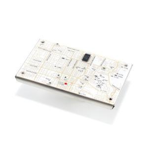 京都回路地図 名刺入れ 白|umd-tsutayabooks
