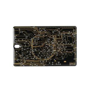 FLASH 東京回路線図 ICカードケース 黒|umd-tsutayabooks