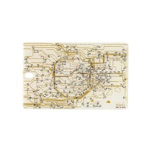 FLASH 東京回路線図 ICカードケース 白|umd-tsutayabooks
