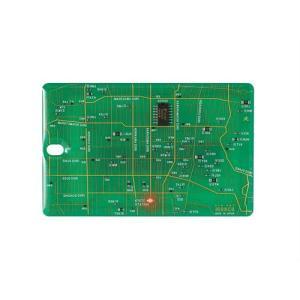 FLASH 京都回路地図 ICカードケース 緑|umd-tsutayabooks