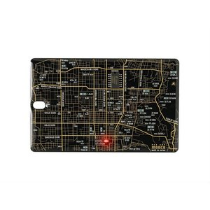 FLASH 京都回路地図 ICカードケース 黒|umd-tsutayabooks