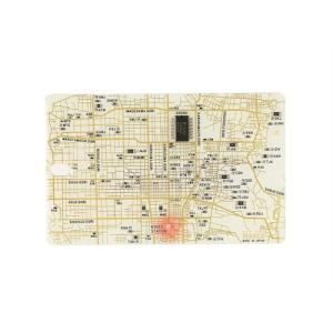 FLASH 京都回路地図 ICカードケース 白|umd-tsutayabooks