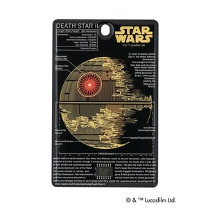 FLASH デス・スター 基板アート ICカードケース 黒|umd-tsutayabooks