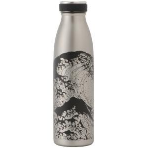 清雅堂瓶型ボトル500ml シルバーしっとり塗浪裏|umd-tsutayabooks