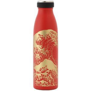 清雅堂瓶型ボトル500ml 赤しっとり塗浪裏|umd-tsutayabooks