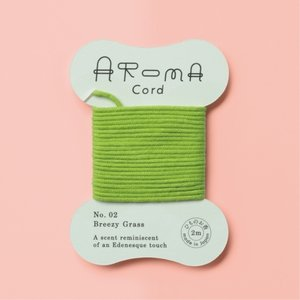 AROMA Cord (アロマコード)02.Breezy Grass(ブリージーグラス)|umd-tsutayabooks