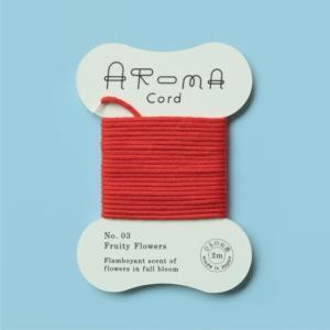 AROMA Cord (アロマコード)03.Fruity Flowers(フルーティーフラワーズ)|umd-tsutayabooks