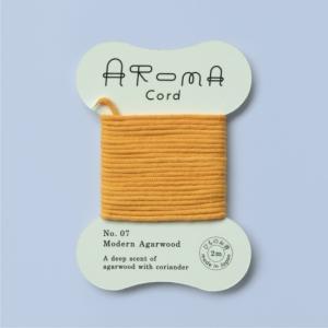 AROMA Cord (アロマコード)07.Modern Agarwood(モダンアガーウッド)|umd-tsutayabooks