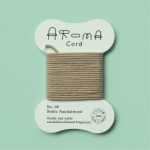 AROMA Cord (アロマコード)08.Noble Sandalwood(ノーブルサンダルウッド)|umd-tsutayabooks