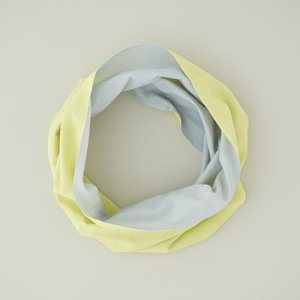 Oo[ワオ] neck underwear 竹野染工 Yellow × Gray Sサイズ|umd-tsutayabooks