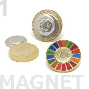 【6月20日(日)までポイント5倍!】SDGsピンバッジ マグネットタイプ【joinsdgs】正規品|umd-tsutayabooks