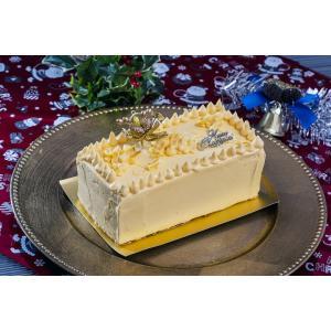 Xmasに!エレガント&レトロ 梅月堂のバタークリームケーキ  1本約440g ※冷凍 送料無料|umeebeccyasannriku