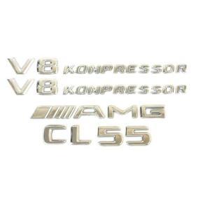 ベンツ benz エンブレム エンブレム サイド リア 4枚SET  W215 AMG CL55 C...
