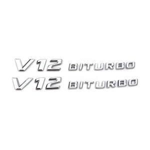 ベンツ benz エンブレム サイド エンブレム SET R230 V12 BITURBO 後期 S...