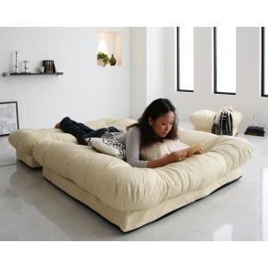 日本製 ソファー カウチソファ フロアソファ リクライニングソファー 合皮|umekiti|04