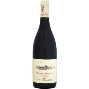 赤ワイン wine ジルベール・エ・クリスティーヌ・フェレティグ シャンボール・ミュジニー VV 2...