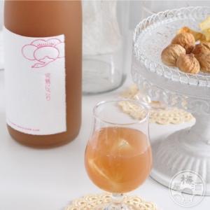 鶴梅〜完熟にごり〜 1800ml 「平和酒造/和歌山」|umeshu