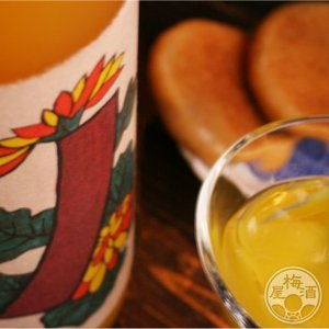 青短の蜜柑酒〜菊に青短〜  720ml 「八木酒造/奈良」|umeshu|03