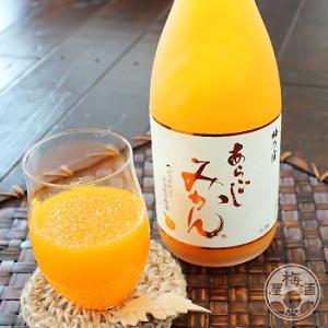 あらごし みかん 720ml 「梅乃宿酒造/奈良」|umeshu