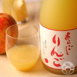 梅乃宿あらごしりんご 1800ml 「梅乃宿酒造/奈良」|umeshu