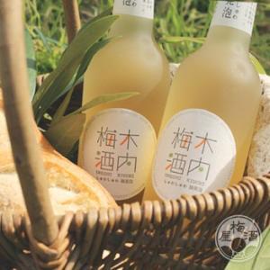 しゅわしゅわ木内梅酒 300ml  「木内酒造/茨城」 umeshu