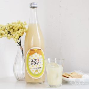 ユズホワイト 1800ml 「寒紅梅酒造/三重」|umeshu