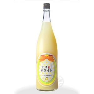 ユズホワイト 1800ml 「寒紅梅酒造/三重」|umeshu|02