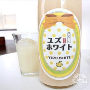 ユズホワイト 1800ml 「寒紅梅酒造/三重」|umeshu|03