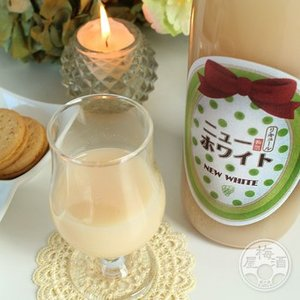 ニューホワイト梅酒 ぷるぷるマスカット味 1800ml 「寒紅梅酒造/三重」|umeshu