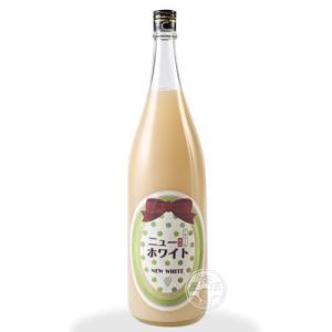 ニューホワイト梅酒 ぷるぷるマスカット味 1800ml 「寒紅梅酒造/三重」|umeshu|02