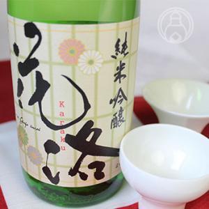 花洛 純米吟醸 祝 720ml [招徳酒造]/京都府 クール便推奨 日本酒|umeshu