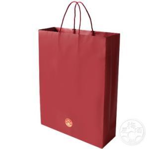 紙袋 3本用 赤色 720mlサイズ  「ラッピング」 umeshu