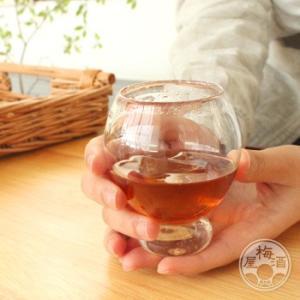 梅酒専用 つぼみグラス 「glass room/京都」梅酒専用グラス|umeshu