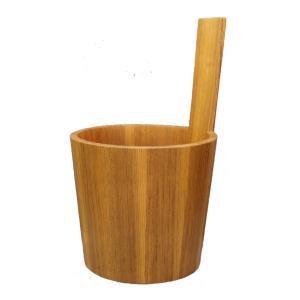 チーク 手桶 (樽富作)|umi-premium