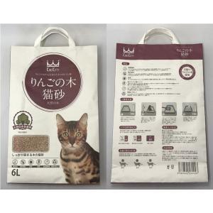 りんごの木 高級猫砂 6L×4袋 ウミダスジャパン 天然の木を使用|umidasjapanshop|02