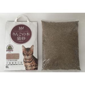 りんごの木 高級猫砂 6L×4袋 ウミダスジャパン 天然の木を使用|umidasjapanshop|07
