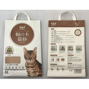 猫砂セレブ 桐の木 高級猫砂 6L×4袋 ウミダスジャパン 97% 天然の木|umidasjapanshop|02