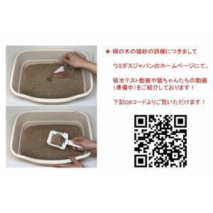 猫砂セレブ 桐の木 高級猫砂 6L×4袋 ウミダスジャパン 97% 天然の木|umidasjapanshop|09