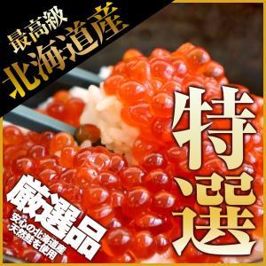 北海道産 特選イクラ 醤油漬け 最上級品 500g 北海道から発送