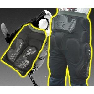 ヒッププロテクター スノーボード スノボ バイク インナー 各サイズ ウミネコ 衝撃吸収PVC&EV...
