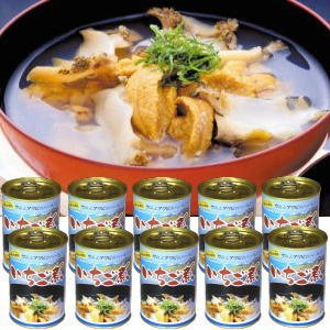 いちご煮缶詰(大)・ハーモニー10個自宅用(箱無し)セット|uminekotayori