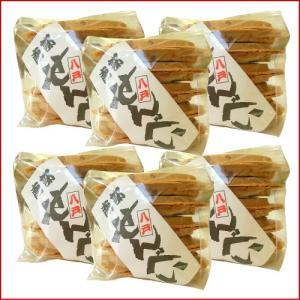 南部せんべい 豆(落花生ピーナッツ)10枚の6個セット |uminekotayori