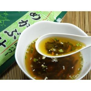 インスタントスープ めかぶ汁(35g)|uminekotayori