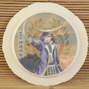 食べる戦国武将・プリント南部せんべい (伊達政宗)|uminekotayori