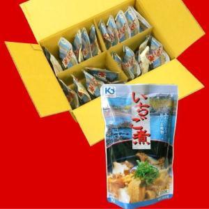 いちご煮スープ1ケース20パック入り/お得なまとめ買い箱売り品|uminekotayori