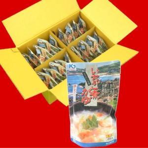 いちご煮がゆ1ケース20パック入り/お得なまとめ買い箱売り品|uminekotayori