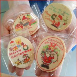 サンタさんのクリスマス塩バター(小判)せんべい-ピロ個装タイプ|uminekotayori